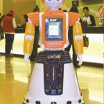 Robot CIROMI works in cinema