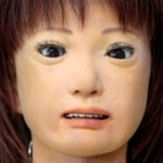 Humanoid robot teaches in Japan