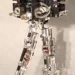 Nogohodyaschy military robot Petman