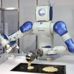 Robot frying pancakes