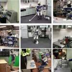 Robot HRP-2 Dishbot-1