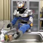 Robot HRP-2 Dishbot