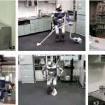 Robot HRP-2 Dishbot -3