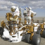 NASA is testing robots for use in space