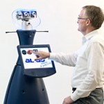 Robot supports older people with communication